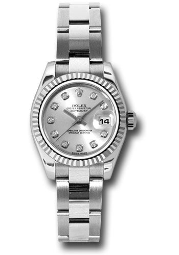 Rolex Steel and 18k WG Datejust -26mm #179174 sdo