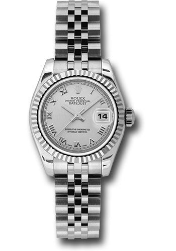 Rolex Steel and 18k WG Datejust -26mm #179174 srj
