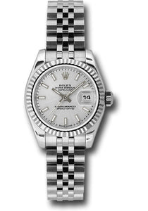 Rolex Steel and 18k WG Datejust -26mm #179174 ssj