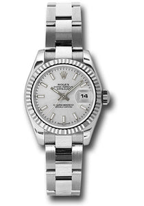 Rolex Steel and 18k WG Datejust -26mm #179174 sso