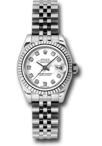 Rolex Steel and 18k WG Datejust -26mm #179174 wdj
