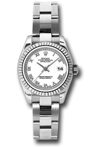 Rolex Steel and 18k WG Datejust -26mm #179174 wro