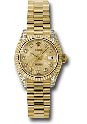 Rolex ladies presidential model # 179238 chjdp