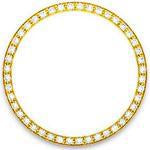 52 Round Diamonds 1.10ct 36mm Beadset