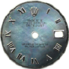 Custom Tahitian mother of pearl roman numeral dial