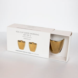 Good Morning Egg Cup set of 2