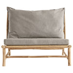 Outdoor Lounge Chair Bamboo +