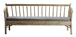 Outdoor Lounge Sofa Bamboo +