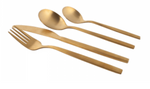 Cutlery Gold set of 8