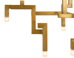 Ceiling lamp Elements Gold