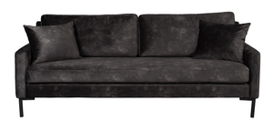 Sofa Houda 3-Seater Anthracite