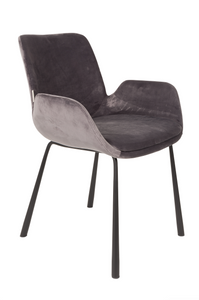 Armchair Brit Dark Grey