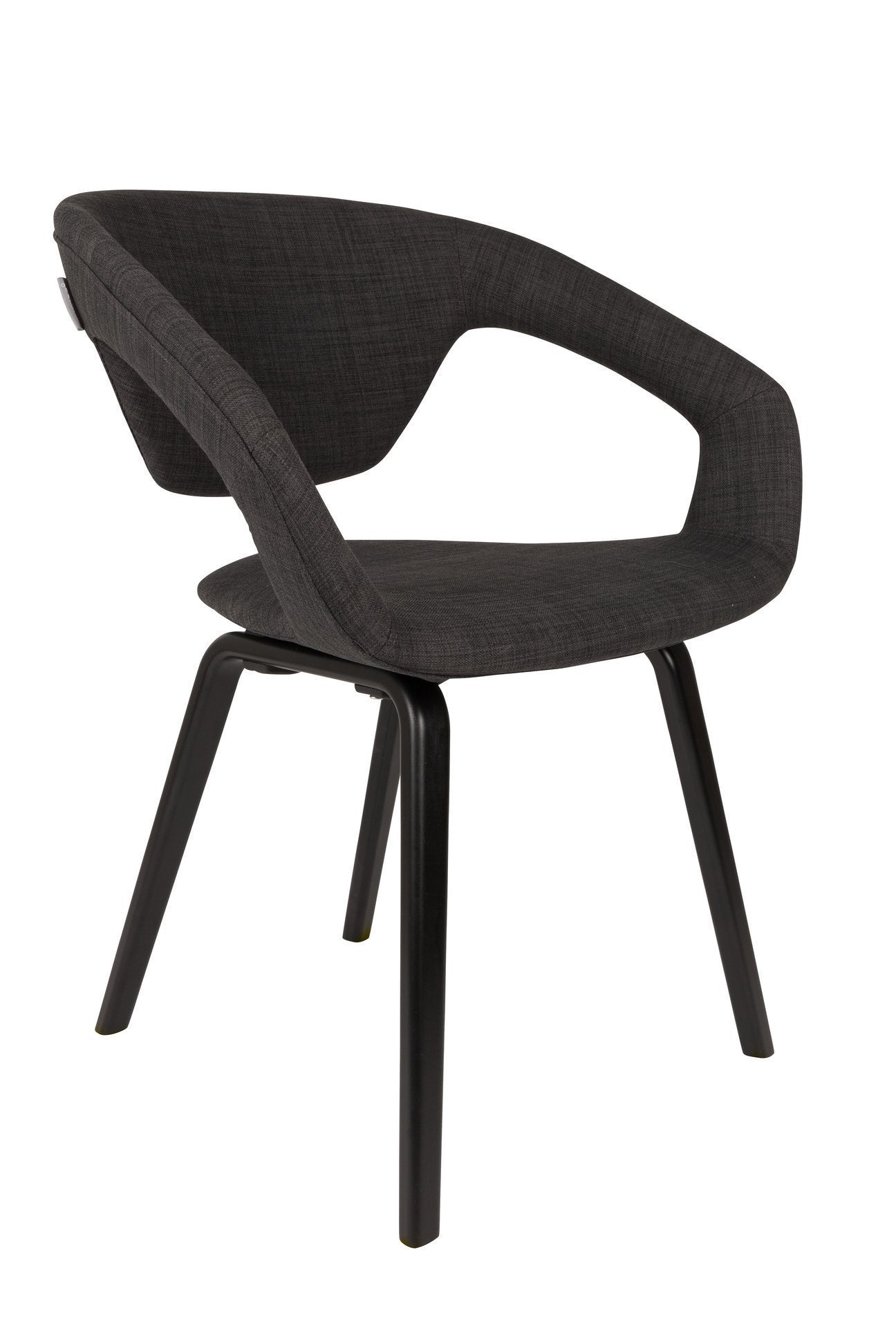 Armchair Flexback Black
