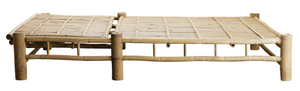 Sunbed Bamboo Double +