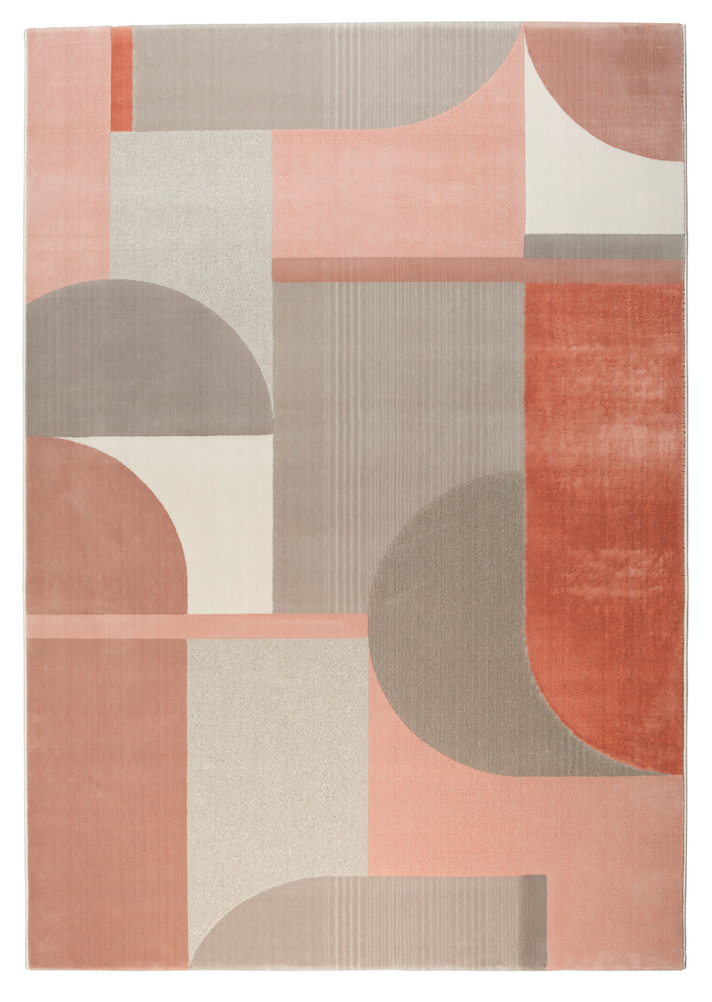 Carpet Hilton 160x230 Grey & Pink