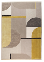 Carpet Hilton 160x230 Grey & Yellow