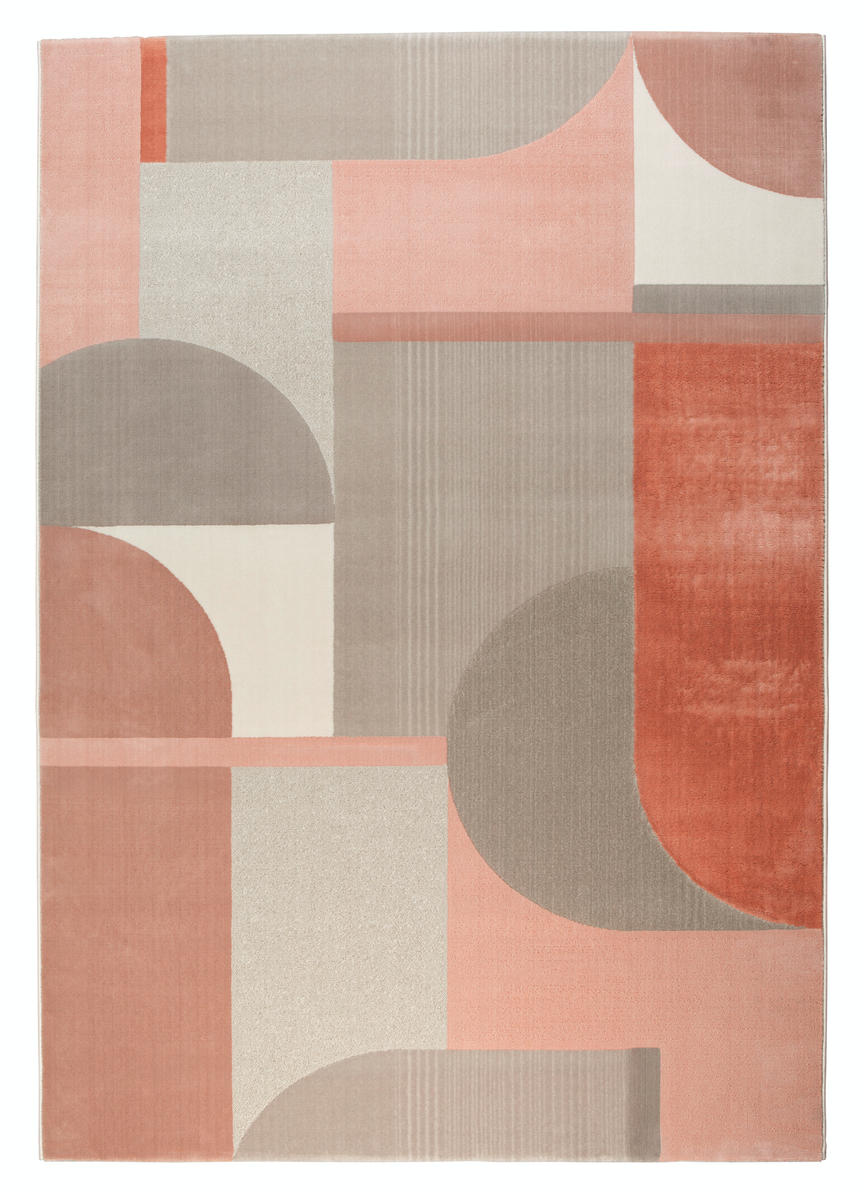 Carpet Hilton 200x300 Grey & Pink