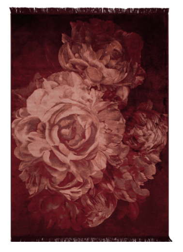 Carpet Stitchy Roses