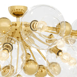 Ceiling lamp Soleil Gold