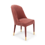 Give Me More Velvet Chair Pink