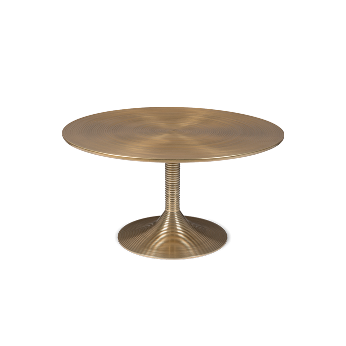 Coffee table Hypnotising Round Gold