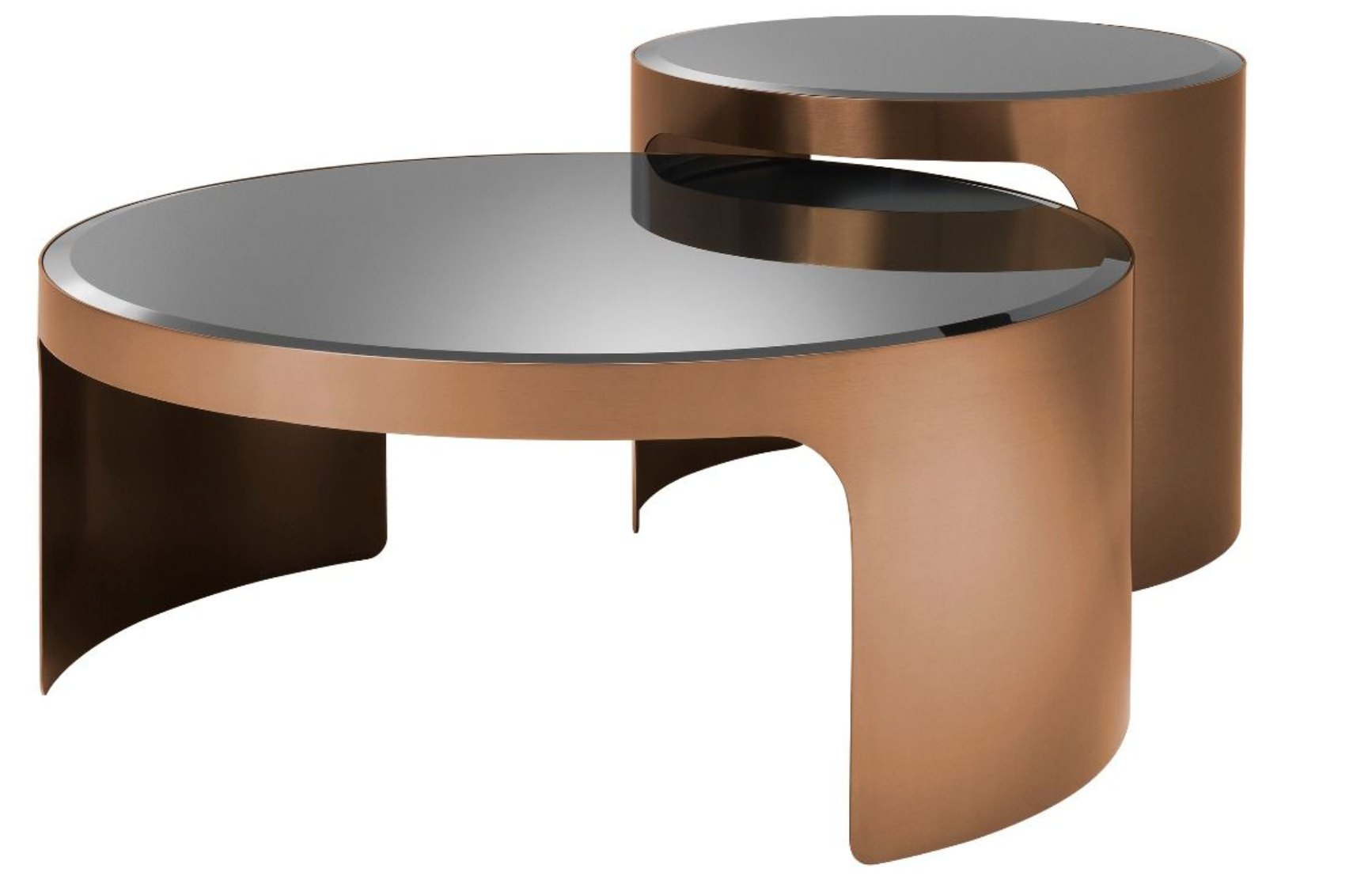 Coffee Table Piemonte Set of 2 +
