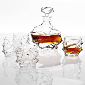 Decanter Set Gatsby Crystal