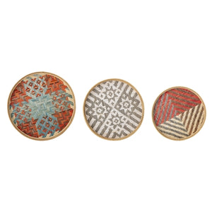 Deco Tray Multi-Color set of 3