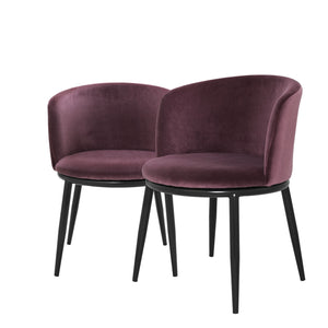 Dining chair Filmore Cameron Purple
