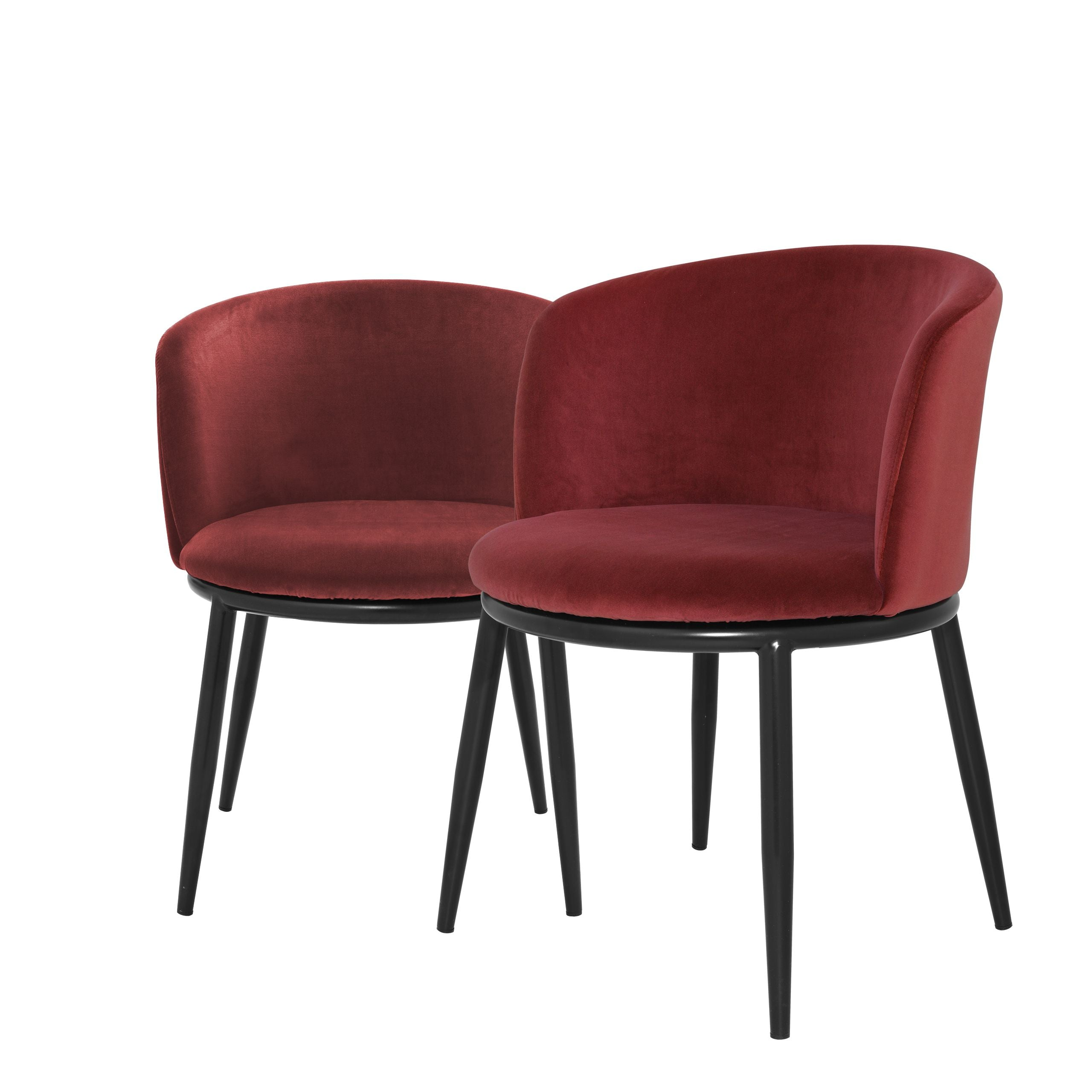 Dining chair Filmore Cameron Wine Red