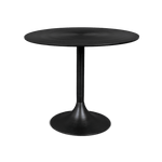 Dining table Hypnotising round black