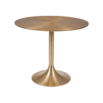 Dining table Hypnotising round gold