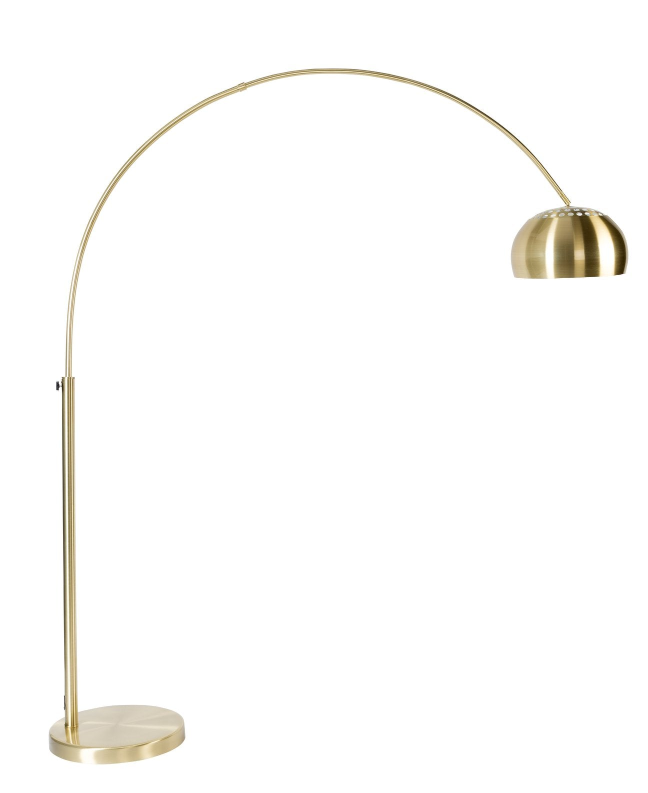 Floor lamp Metal Bow brass