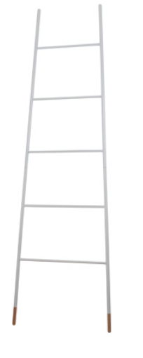 Ladder rack white
