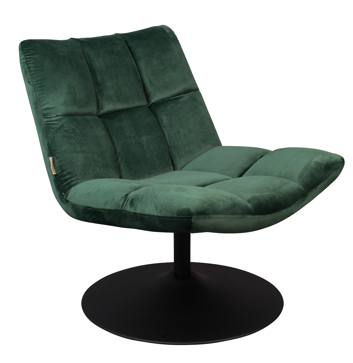 Lounge chair Bar Velvet Green