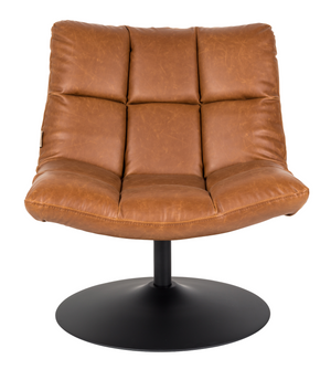 Lounge chair Bar Vintage leather brown