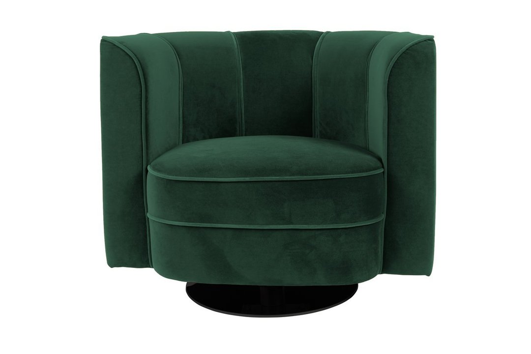 Lounge chair Flower Green