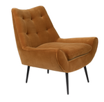 Lounge Chair Glodis Caramel