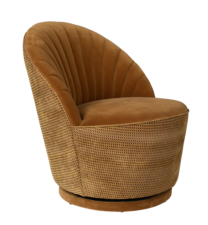 Lounge Chair Madison Caramel