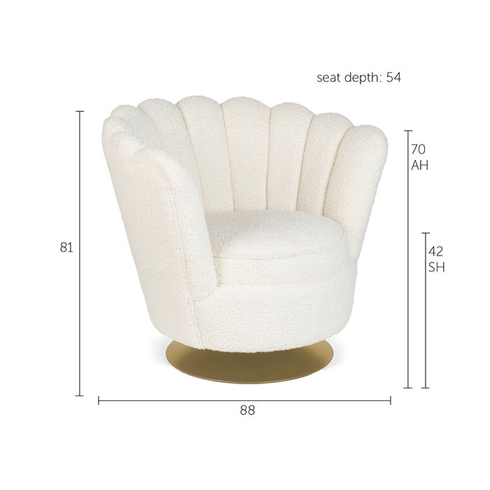 Lounge Chair Mother of All Shells