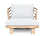 Outdoor armchair Strauss +