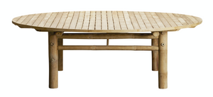 Outdoor Bamboo Lounge Table
