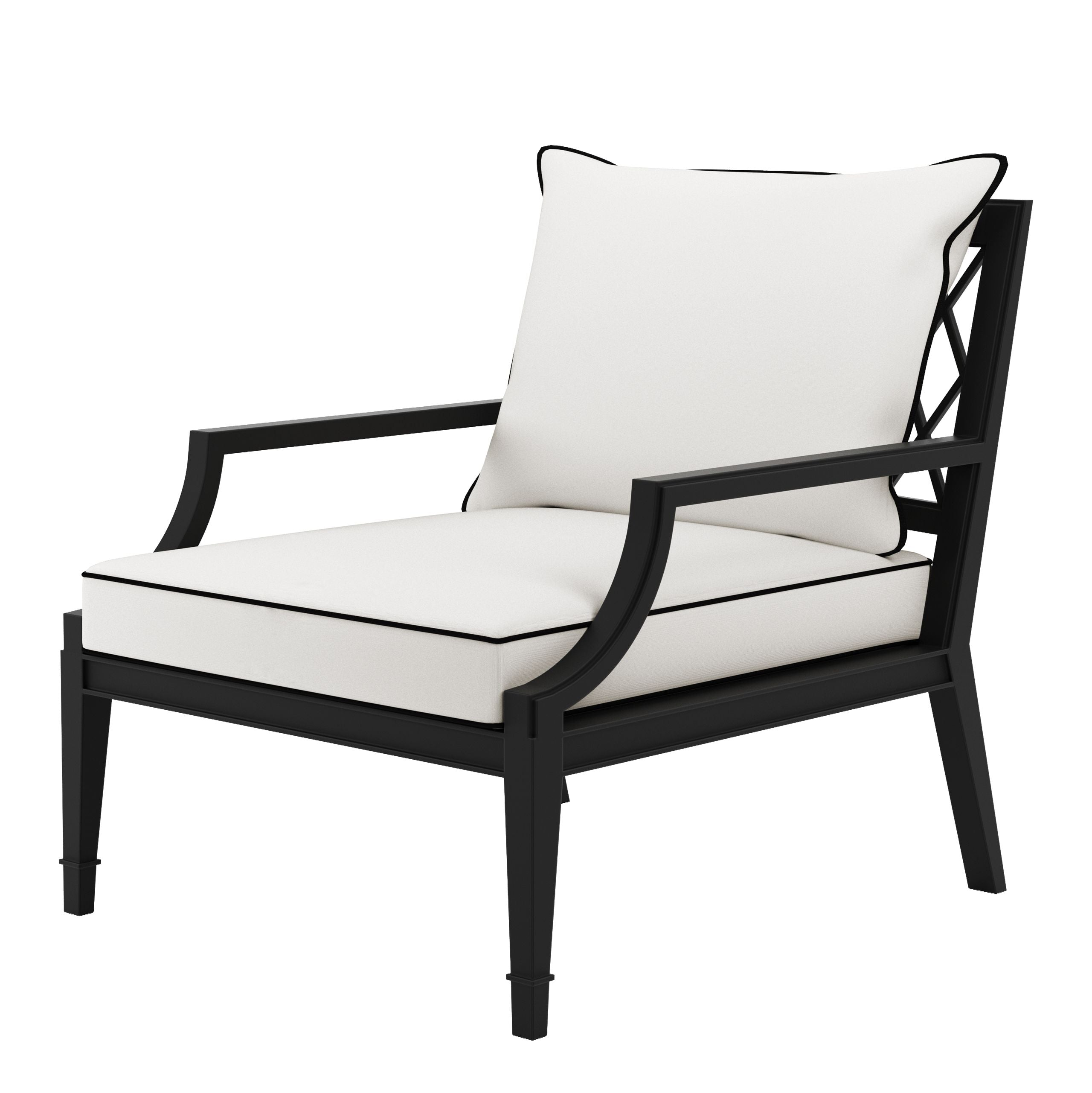 Outdoor Chair Bella Vista Black