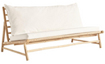 Outdoor Lounge Couch Bamboo +