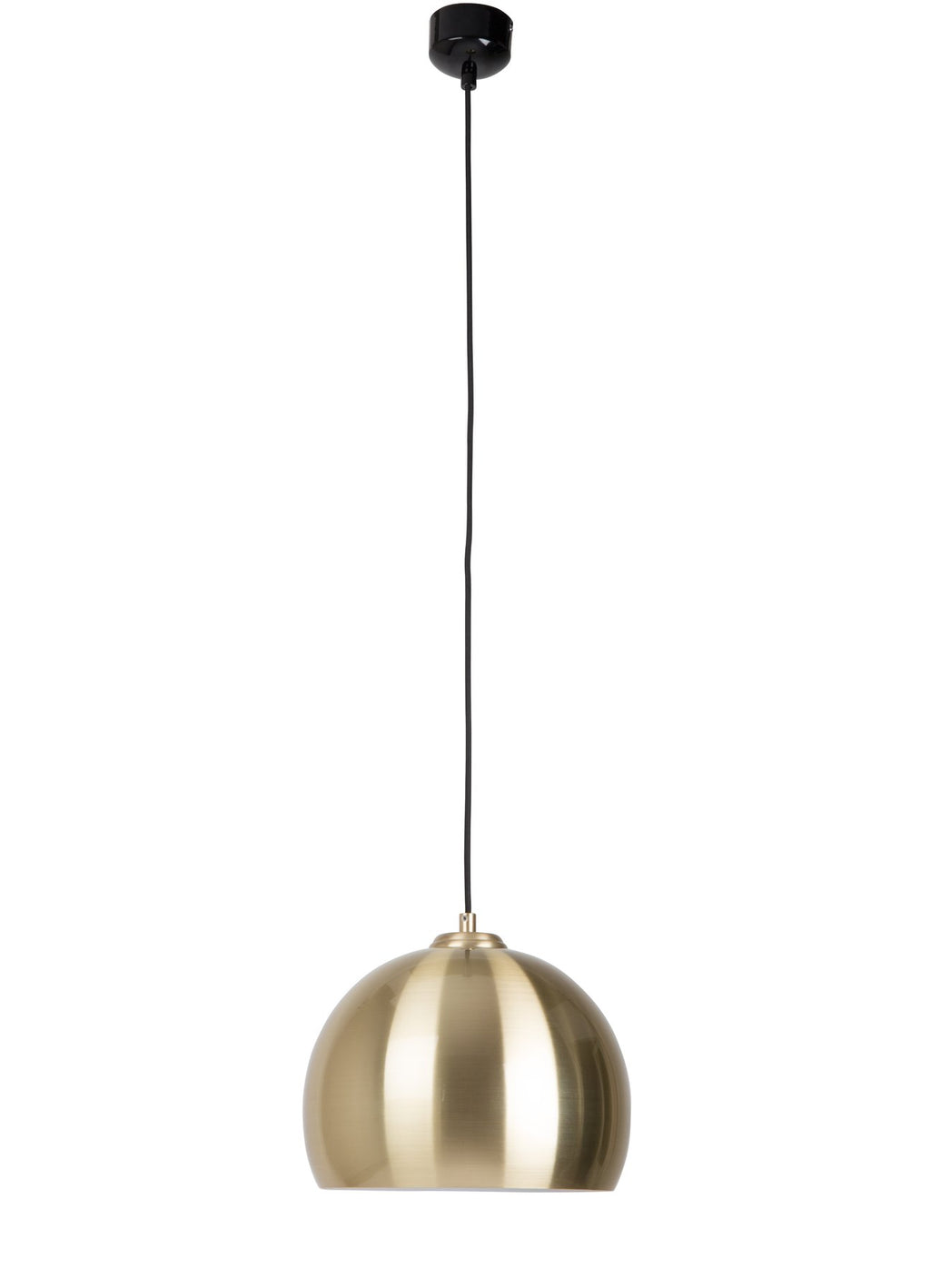 Pendant lamp Big Glow brass