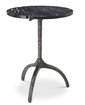 Side Table Cortina Black Marble