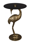 Side table Crane Gold