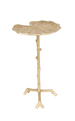 Side Table Lily Gold