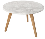 Side table white Stone +