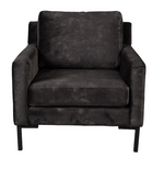 Sofa chair Houda Anthracite